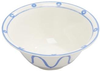Themis Z - Serenity Porcelain Salad Bowl - Blue White