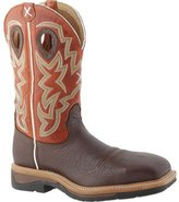 Twisted X Western Work Boots Mens Steel Toe Cognac MLCS011