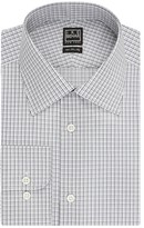 Ike Behar Graph Check Classic Fit Dress Shirt