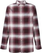 Long Pocket checked shirt