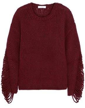IRO Vasily Ribbed Wool-blend Sweater