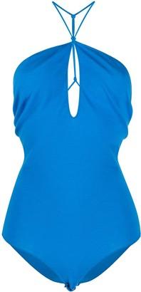 Bottega Veneta Keyhole-Neck Sleeveless Bodysuit