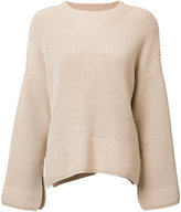 Elizabeth and James ribbed detail jumper - women - Cotton/Nylon - XS