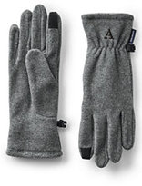 Classic Men's T100 Fleece EZ Touch Gloves-Ecru