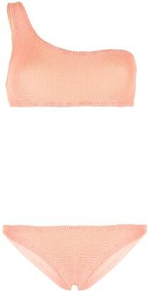 Hunza G Nancy crinkled bikini set