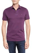 Michael Kors Sleek Polo Shirt, Blackberry