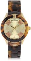 John Galliano Tortoise Pictural Women's Watch