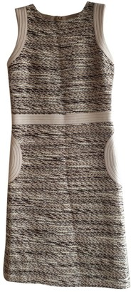AILANTO Brown Wool Dress for Women