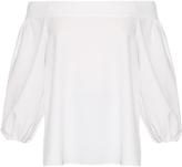 Tibi Off-the-shoulder long-sleeved top