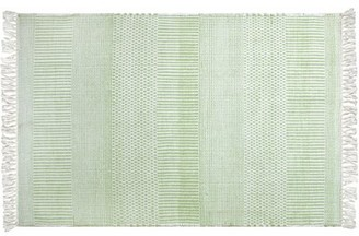 Company C Somner Handmade Flatweave Green Rug CompanyC Rug Size: Rectangle 2' x 3'