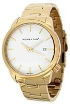 Momentum Women's 1M-SP13W0 LOGIC SS Analog Display Japanese Quartz Gold Watch