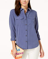 INC International Concepts I.N.C. Washed Shirt, Created for Macy's
