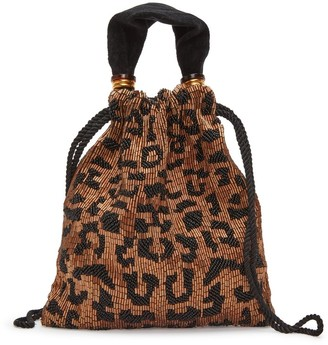 Lizzie Fortunato Gala Wristlet in Cheetah