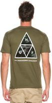 HUF Muted Military Triple Triangle Ss Tee