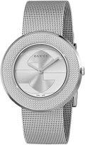 Gucci Women's YA129407 U-Play Medium Steel Mesh Watch