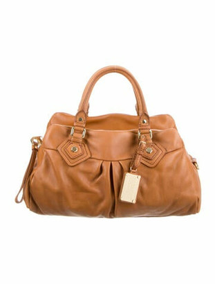 Marc by Marc Jacobs Classic Q Groovee Handle Bag Brown