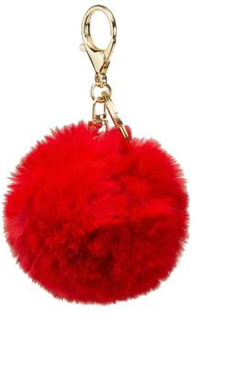 Faux Red Keychain