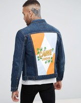 Levis 50th Anniversary Trucker Jacket Exclusive Painted