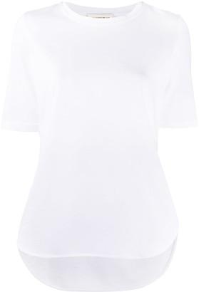 Semi-Couture Violette logo T-shirt