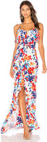 Parker Bellaire Combo Dress in Red. - size 0 (also in )