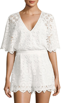Red Carter Women's Rue Embroidered Romper