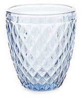 Southern Living Diamond-Cut Double Old Fashioned Glass