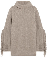 Beige Women's Turleneck Sweaters - ShopStyle