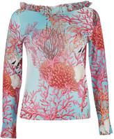 Blugirl Coral Design Blouse