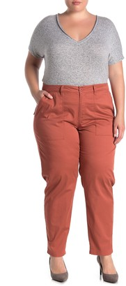 Sanctuary Washed Down Twill Pants (Plus Size)