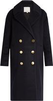 Tibi Oversized wool and mohair-blend coat