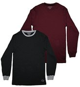 (Pack of 2)Ecko Untd Youth Superior Quality Crew-Neck Long Sleeve Shirt L