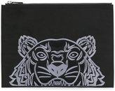 Kenzo Tiger canvas clutch - unisex - Nylon/Polyester - One Size