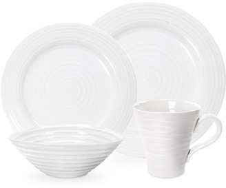 Sophie Conran 4-Piece Dinnerware Set White