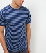 New Look Blue Stripe T-shirt