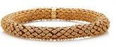 Carolina Bucci Thick Florentine Finish Twister Luxe Bracelet