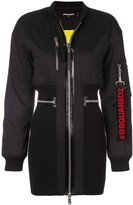DSQUARED2 bomber dress