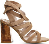 Office Ashley suede heeled sandals