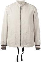 Lanvin Racing jacket - men - Cotton/Rayon/Viscose/Polyester - 46