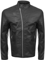 Religion Crea Leather Jacket Black