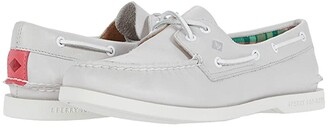 Sperry A/O PlushWave Smooth Leather (Grey) Women's Shoes