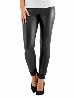 Pieces Women's PCNEW SHINY FLEECE LEGGINGS NOOS Leggings