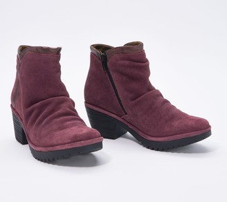 Fly London Leather Ankle Boots - Wego