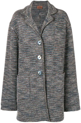 Missoni Pre Owned 1980's Loose Knitted Coat