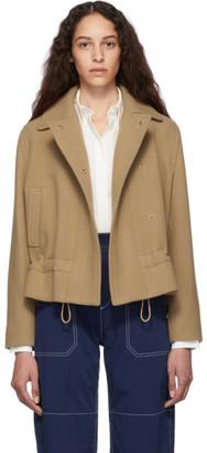 Chloé Beige Wool Jacket