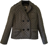 Burberry Green Polyester Jacket