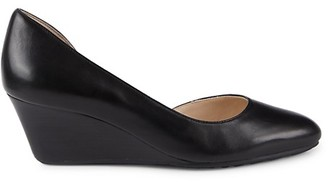 Cole Haan Edith Leather Wedge Pumps