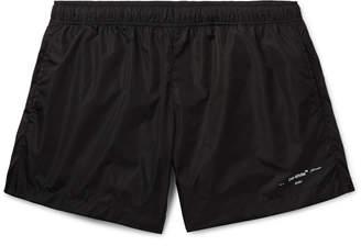 Off-White Off White Mid-Length Swim Shorts