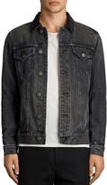 AllSaints Gravel Slim Fit Denim Jacket