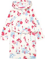 Joules Floral print dressing gown 3-12 years