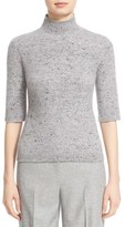 Nordstrom and Caroline Issa Cashmere & Merino Wool Mock Neck Pullover